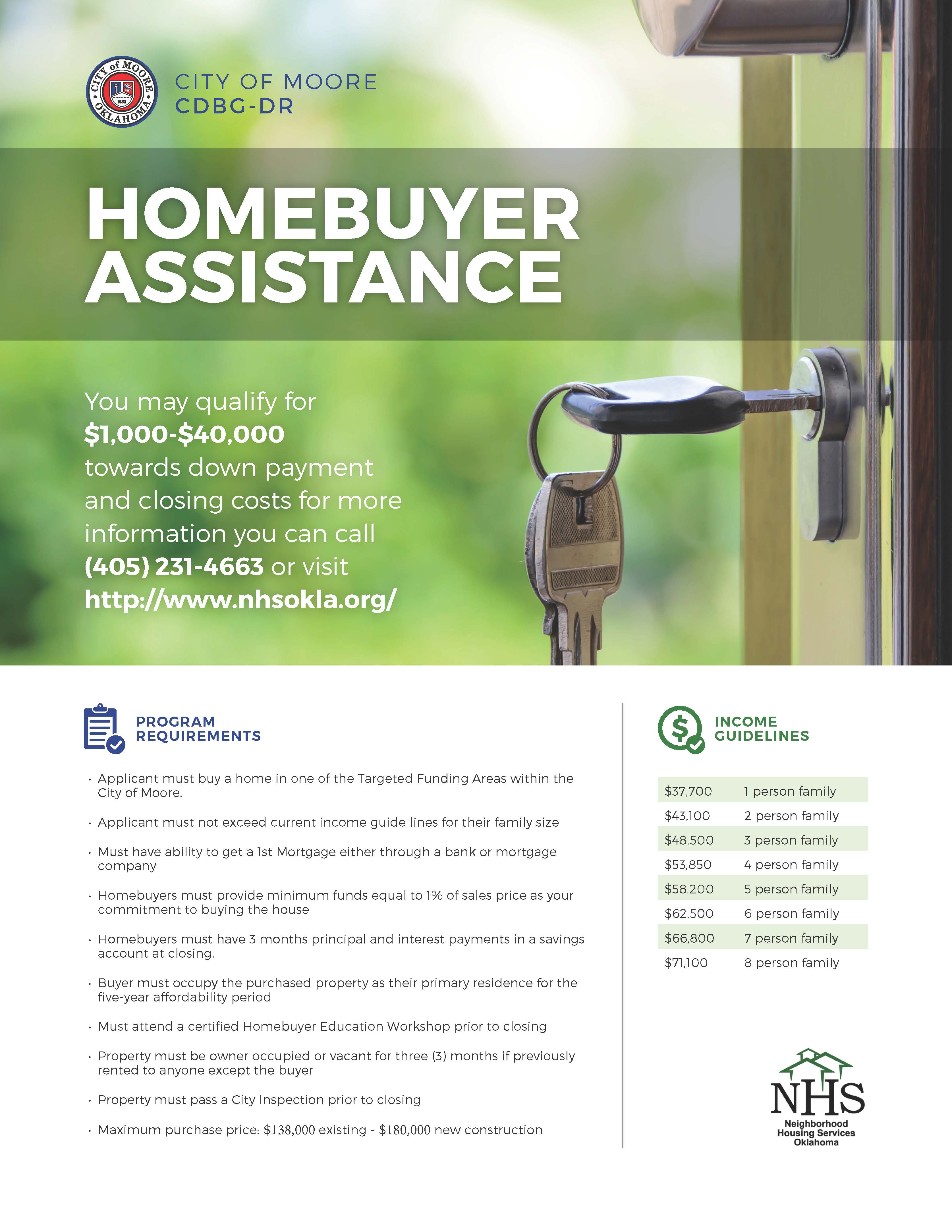 Program Spotlight Moore OK Down Payment Assistance